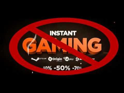 Instant Gaming Account Löschen
