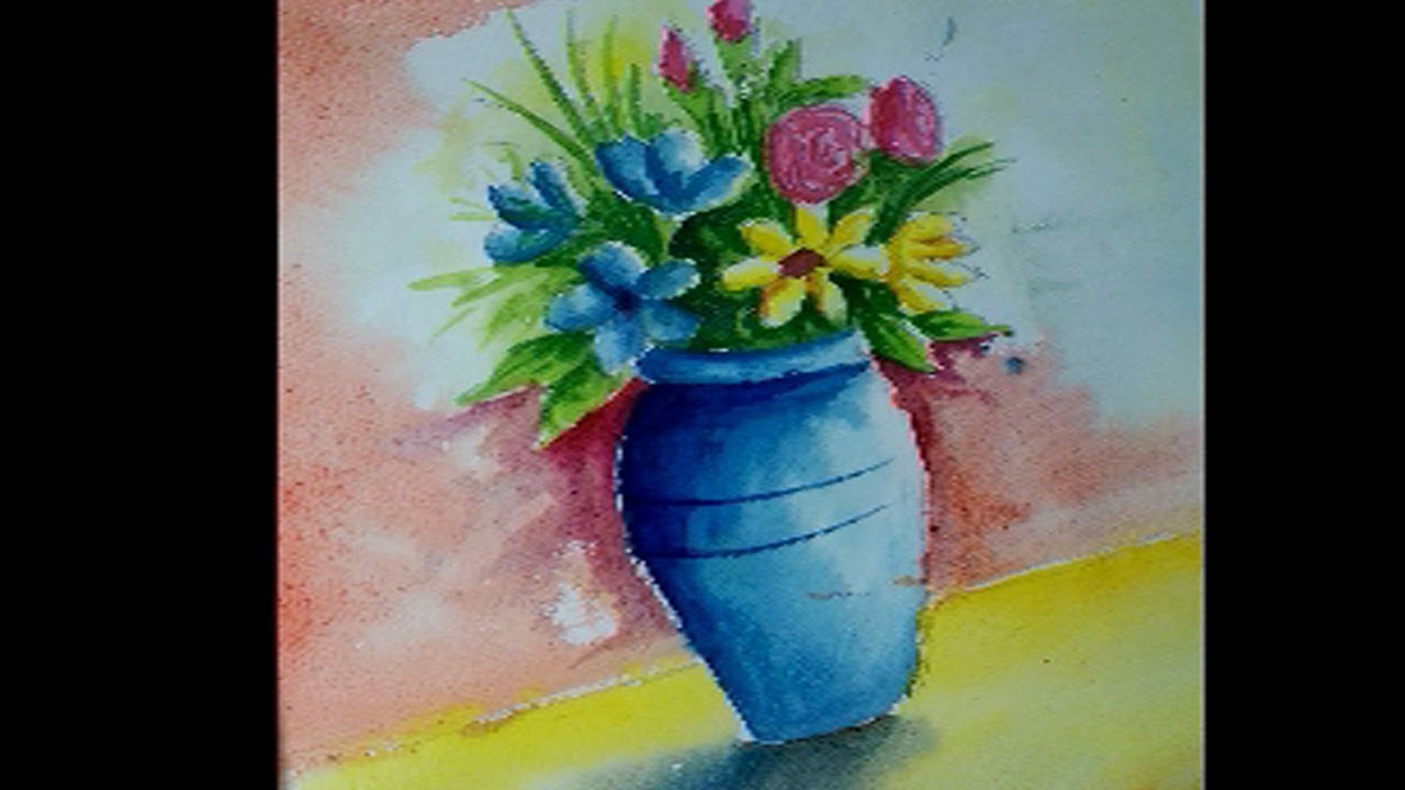 Watercolour flower vase art | new video | just awesome on a words D on flower wreath painting, bird-and-flower painting, flower bowl painting, flower box painting, flower butterfly painting, bottle flower painting, flower oil paintings christmas, flower bed painting, flower table painting, candle painting, flower girl painting, flower white painting, frame painting, flower light painting, modern palette knife painting, flower mirror painting, flower vases with flowers, flower still life oil paintings, flower window painting, flower stand painting,