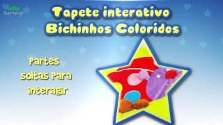 Tapete interativo Bichinhos Coloridos | Submarino.com.br