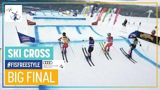 Baron ends winning drought   Women's Ski Cross #2   Idre Fjäll   FIS Freestyle Skiing