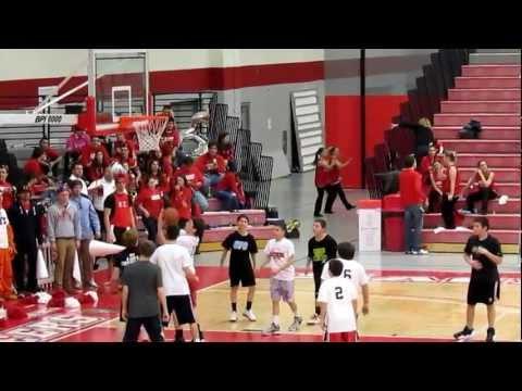 7th and 8th Grade Basketball - Monroe, Connecticut - Robert Morris vs Sacred Heart - Feb 16, 2013