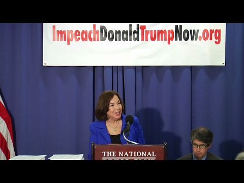 Catherine Ross Calls for the Impeachment of Donald Trump, Feb. 16th, 2017