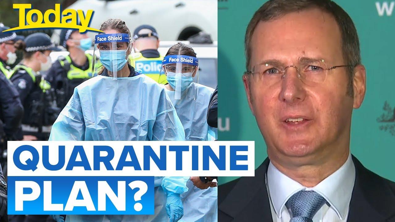 Coronavirus: Plan to hire flight staff to support Victoria hotel quarantine | Today Show Australia