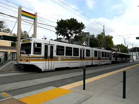 Sacramento RT Light Railサクラメント・ライトレール 16th street