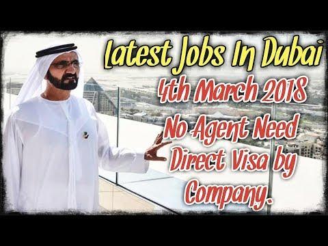 No Agent   100% Free Visa   Direct Dubai Jobs March 2018   Latest Jobs In Dubai 2018