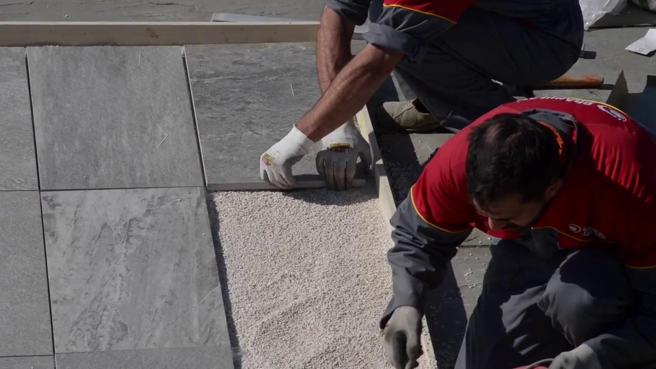 Posa Pavimento A Secco Giardino l'altra pietra » posa a secco in appoggio su ghiaia, sabbia