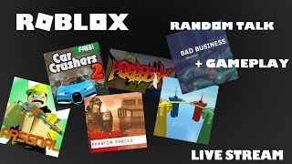 Roblox Arsenal Gameplay + Random Talk [Live]