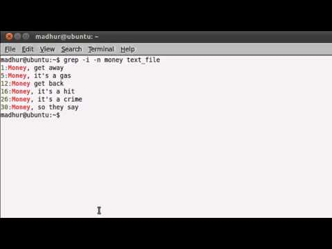 Shell Scripting Tutorial-43: Search Patterns Using 'grep'