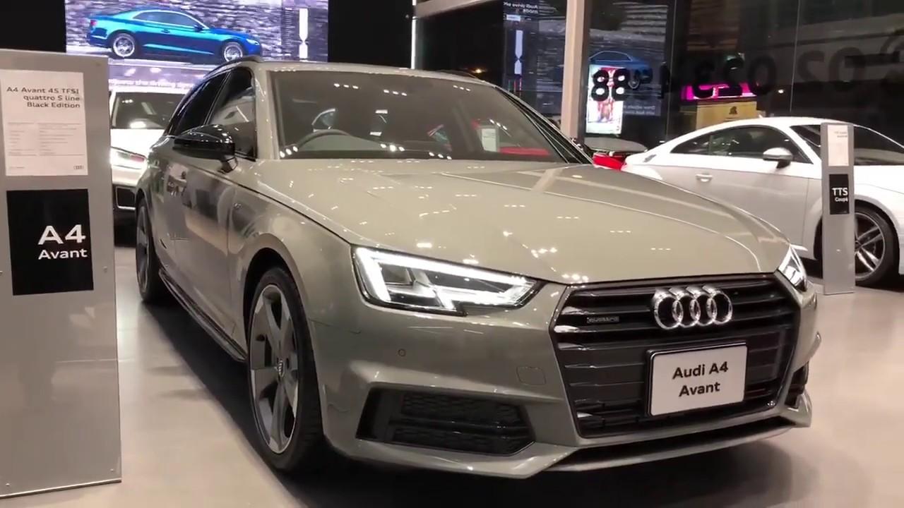 New 2019 Audi A4 Avant Black Edition Redline Review