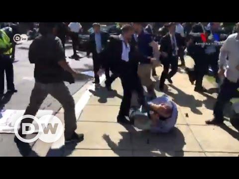 Erdoğan'ın Washington ziyareti sırasında kavga çıktı - DW Türkçe