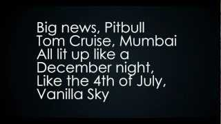 Pitbull ft. Shakira - Get It Started Lyrics (Video with Lyrics / Letra)