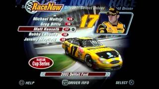NASCAR Thunder 2004: All NASCAR Drivers/Cars/Paint Schemes (Winston Cup)
