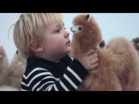 Playing With Super Soft, Handmade Alpaca Toys - Peru - Inkari - 2017
