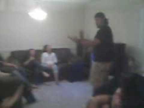 Manny Sings Queen Karaoke