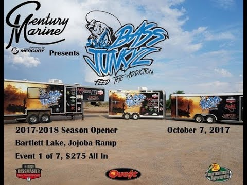 Bass Junkyz at Bartlett Lake 10-7-2017