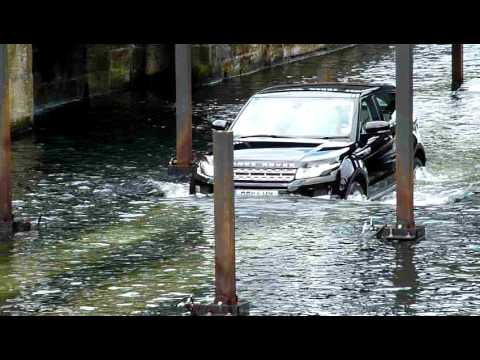 Land Rover Evoke Test Drive 1 at Albert Docks, Liverpool