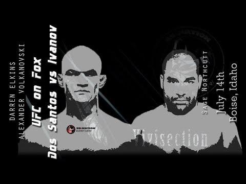 The MMA Vivisection - UFC Boise: JDS vs. Ivanov picks, odds, & analysis
