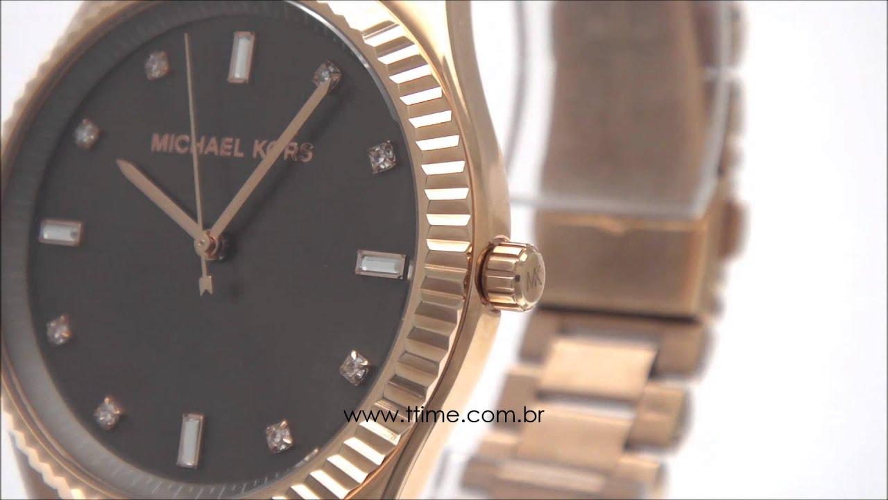 dd670cfb4b165 Relógio Michael Kors MK3227 4MN - YouTube