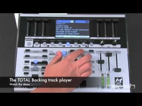 Merish PLUS - MIDI File & MP3 backing track player