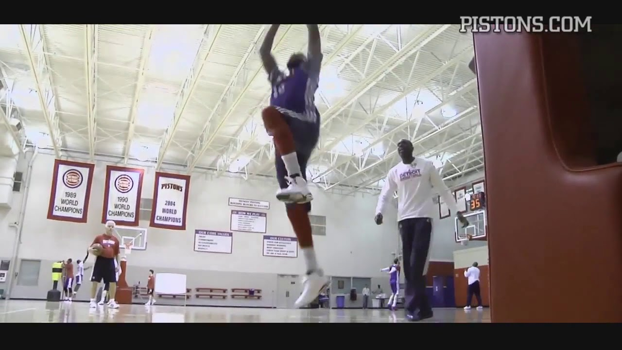 Detroit Pistons   Wired: Coach Rogers and the Pistons\' Bigs - YouTube