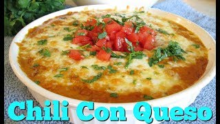 Chili Con Queso - Speedy Cooking Videos - PoorMansGourmet