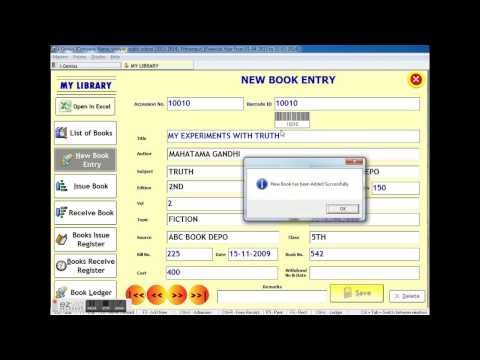Library Software Demo