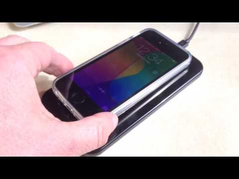 Recharge iPhone dans