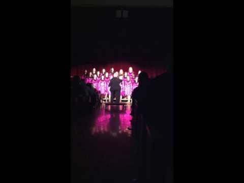 "PHS ""Pieces of Eight"" A Cappella women"