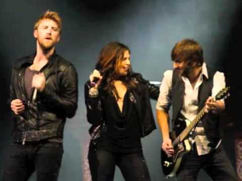 KYGO Presented Lady Antebellum at the Fillmore on 11/3/10