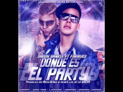 DONDE ES EL PARTY - DADDY YANKEE FT FARRUKO - @LAN DJ 2014