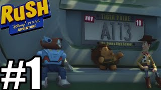 Rush A Disney-Pixar Adventure Gameplay Walkthrough Part 1 - Toy Story