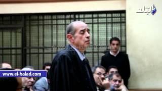 بالفيديو.. فريد الديب في «رشوة وزارة الزراعة» يتنازل عن مناقشة المتهمين