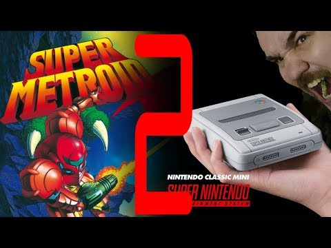 Retro time! | Super Metroid 2.rész | SNES MINI
