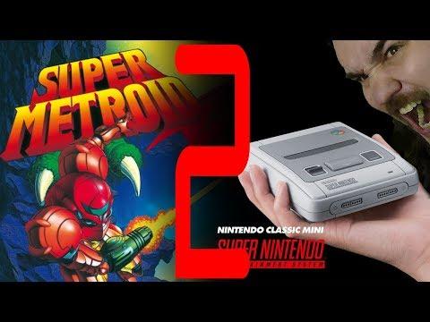 Retro time! | Super Metroid 2.rész | SNES MINI