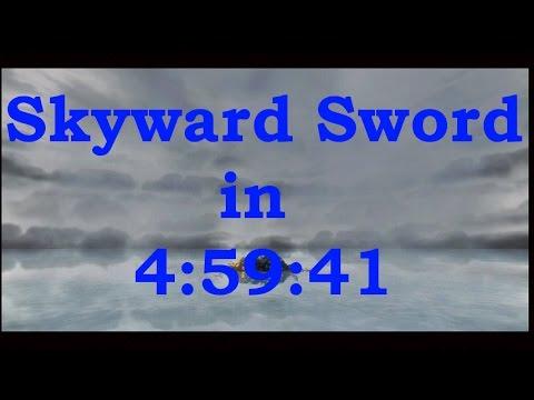 Skyward Sword Any% Speedrun in 4:59:41(Live Version)