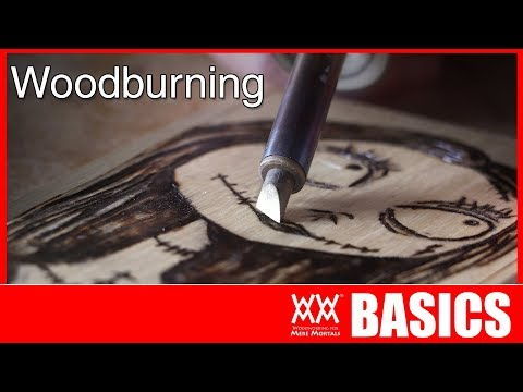 Beginner's Guide to Woodburning. Pyrography BASICS