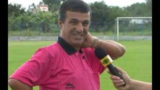 Papo de boleiro com o ex-arbitro Margarida