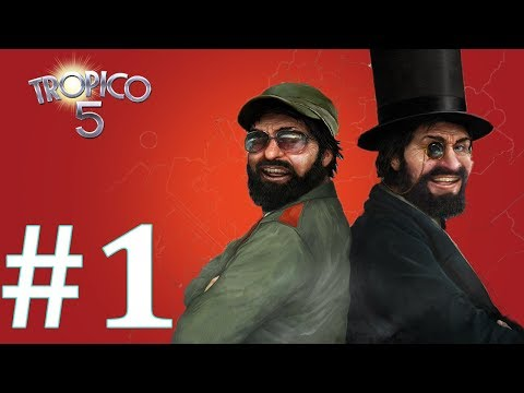 How to Start an Island in Tropico 5  (Ep #1 - Tropico 5 Sandbox Gameplay)