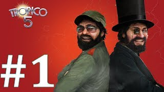 How to Start an Island in Tropico 5  (Ep #1 - Tropico 5 Sandbox Gameplay)