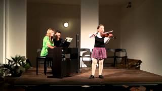N Paganini Moto perpetuo A Sonata II  Sara Belic