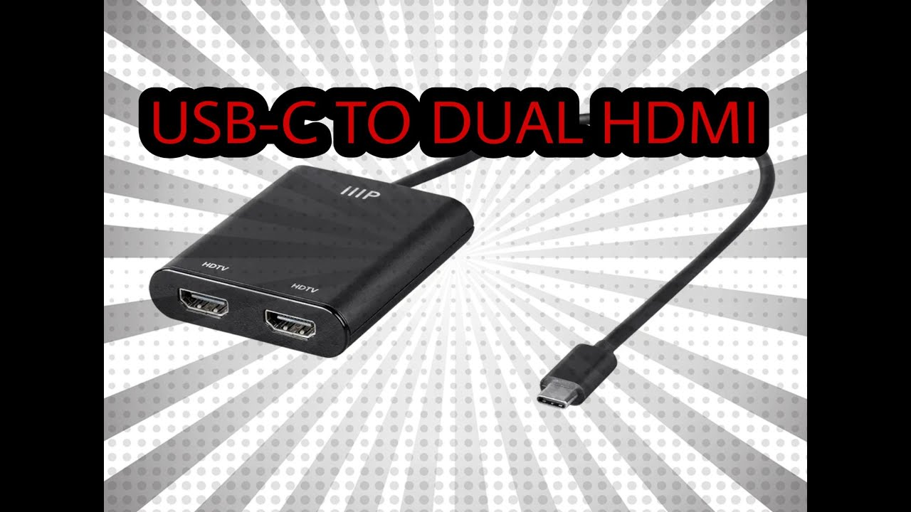 USB C TO DUAL HDMI ON SURFACE GO ( Does it Work?)
