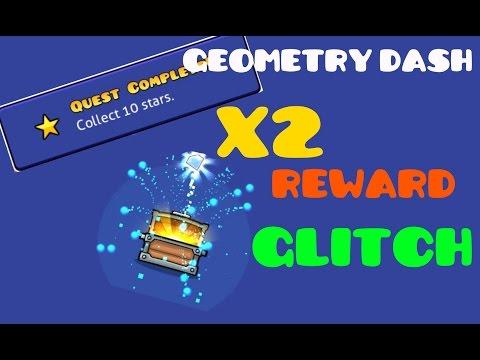 Geometry Dash 2.1 Reward X 2 Glitch! [ANDROID/STEAM]