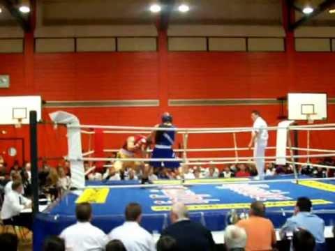 amateur boxkampf