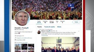 Trump again takes aim at Mueller probe on Twitter