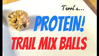 Protein Trail Mix Balls Simple Recipe By Axfit
