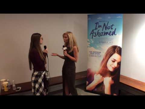 Victoria Staley at 'I'm Not Ashamed' Premiere