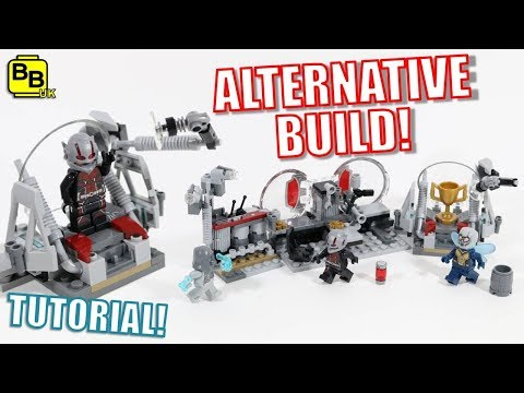 LEGO ANT-MAN & THE WASP 76109 ALTERNATIVE BUILD HANK PYM'S LAB! thumbnail