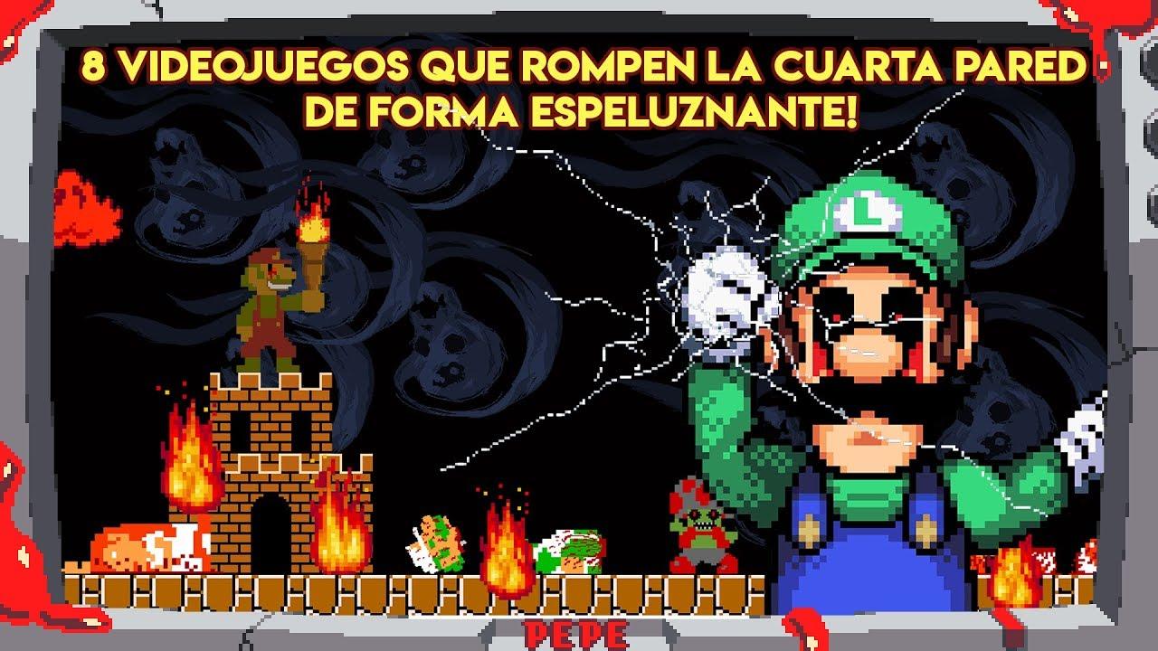 8 Videojuegos que Rompen la Cuarta Pared de Forma Espeluznante - Pepe el  Mago