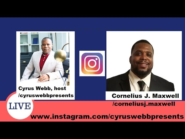 Interview with Cyrus Webb