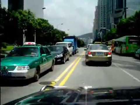Andrei Rochian.  Conducand in Orasul  Guangzhou  Canton China.